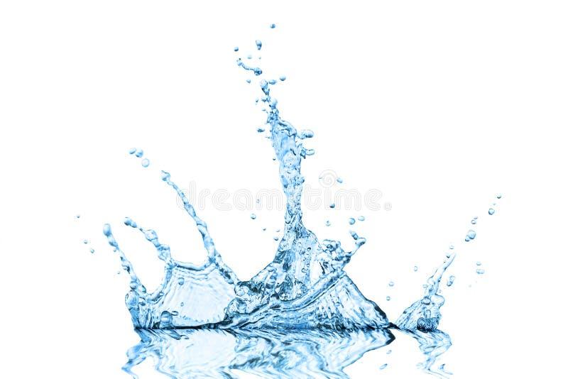 Fond d'abrégé sur onde d'eau bleue images stock