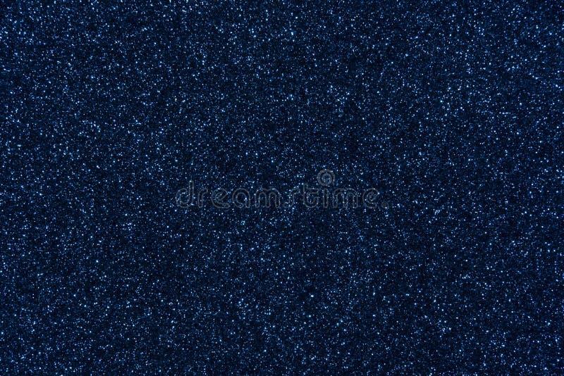 Fond d'abrégé sur texture de scintillement de bleu marine images libres de droits