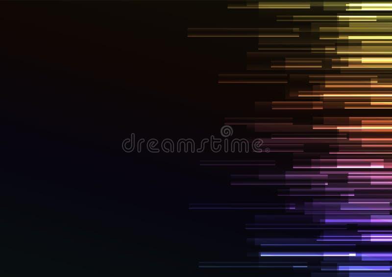 Fond d'abrégé sur vitesse de pixel de chevauchement illustration libre de droits