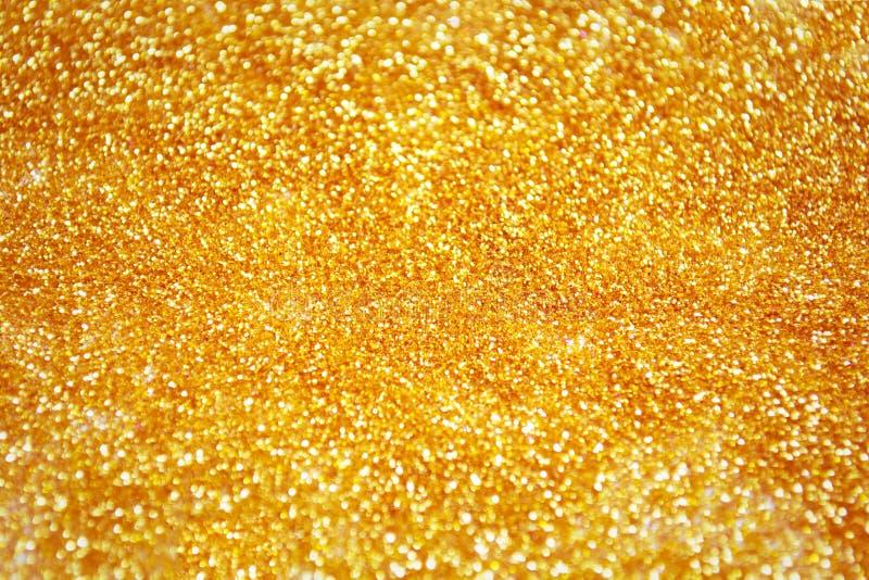Fond d'or abstrait photographie stock libre de droits