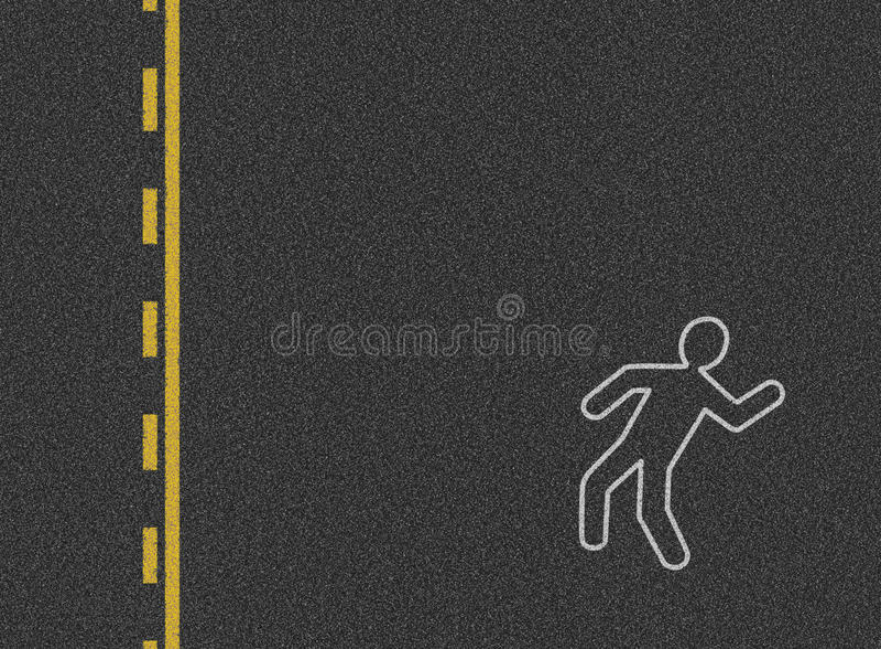 Fond d'accidents de véhicule photo libre de droits