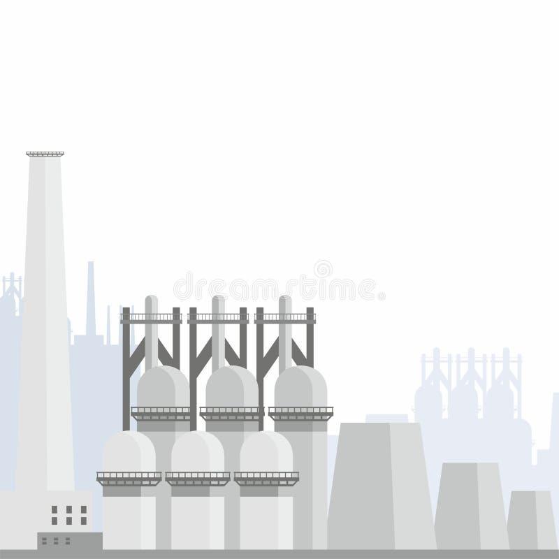Download Fond d'aciérie illustration de vecteur. Illustration du four - 87700966