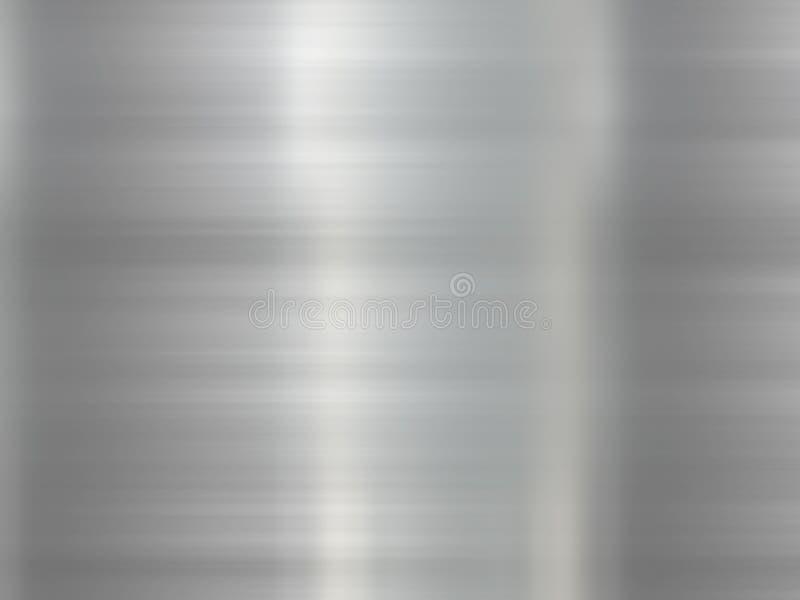 Fond d'acier inoxydable illustration stock