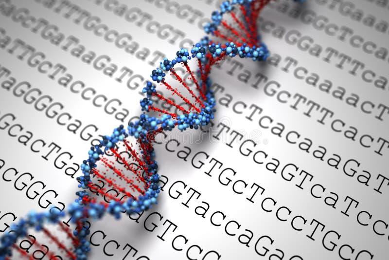 Fond d'ADN (type 05) illustration libre de droits