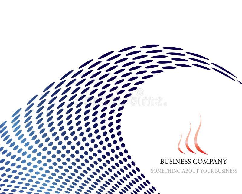 Fond d'affaires illustration stock