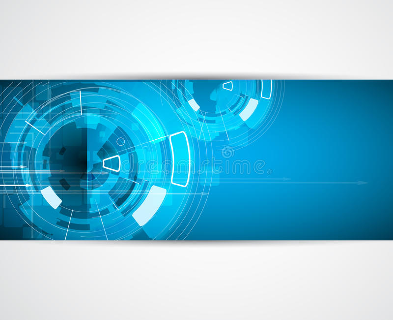 Fond d'affaires de concept de nouvelle technologie d'ordinateur d'infini