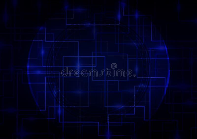 Fond d'affaires de Digital Abstrct illustration de vecteur