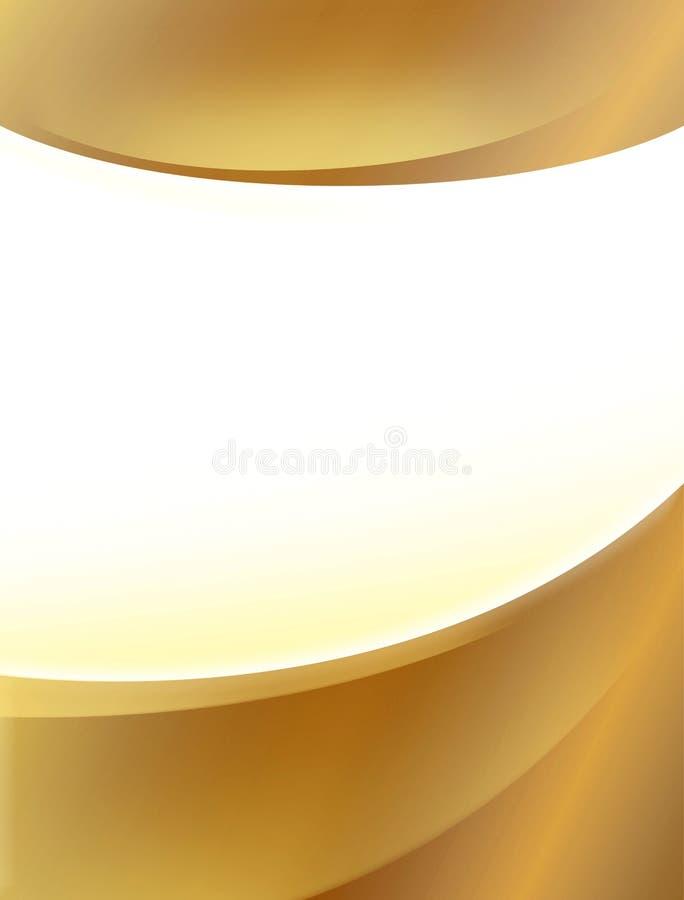 Fond d'affiche d'or photos libres de droits