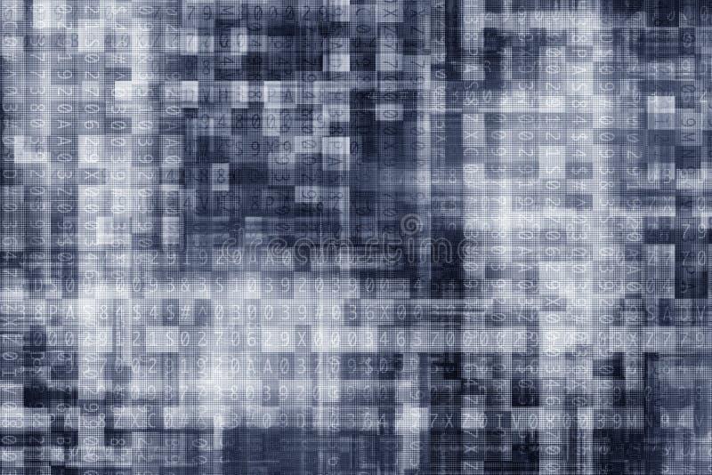 Fond d'algorithme de Digital illustration libre de droits