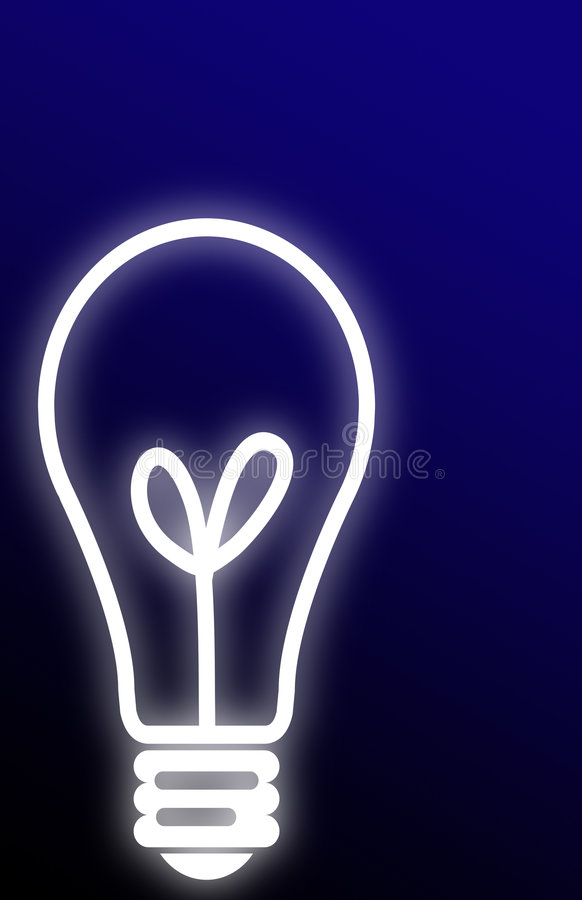 Fond d'ampoule illustration stock