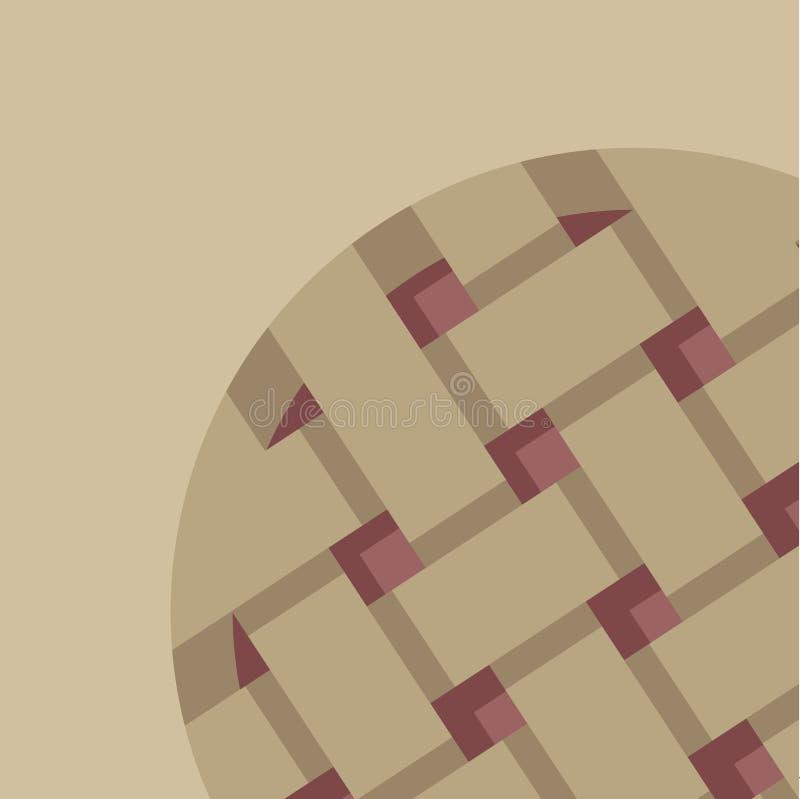 Fond d'applepie de vecteur illustration libre de droits