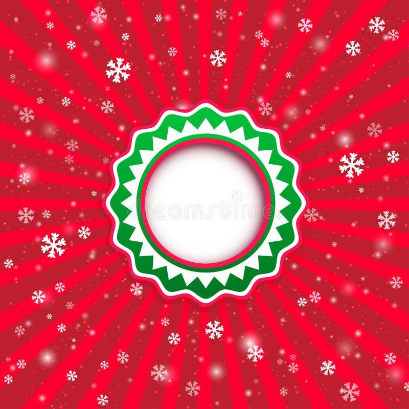 Fond d'applique de Noël. Illustration de vecteur pour votre desi illustration de vecteur