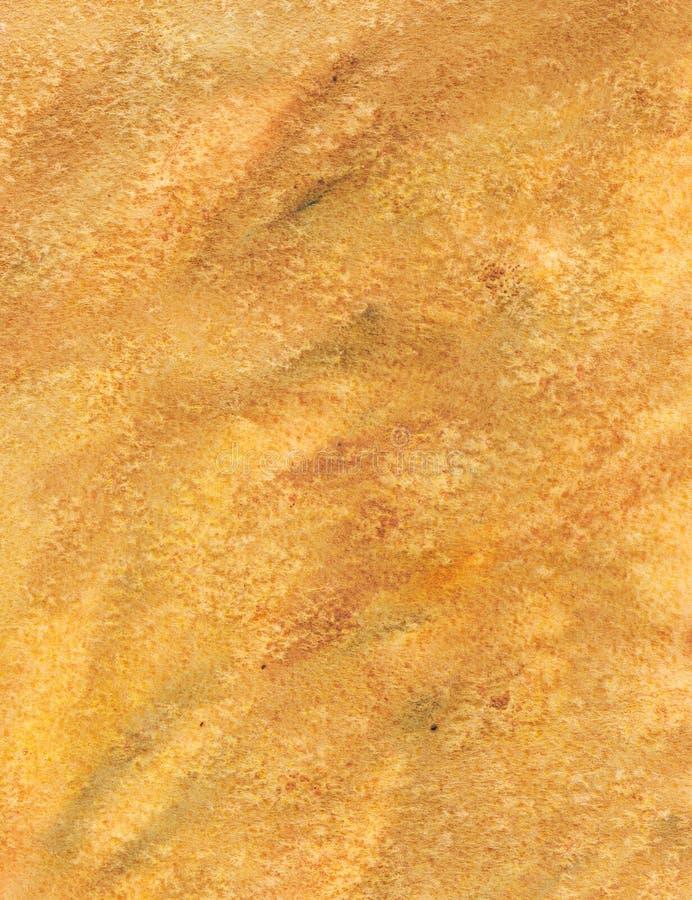 Fond d'aquarelle de Brown images stock