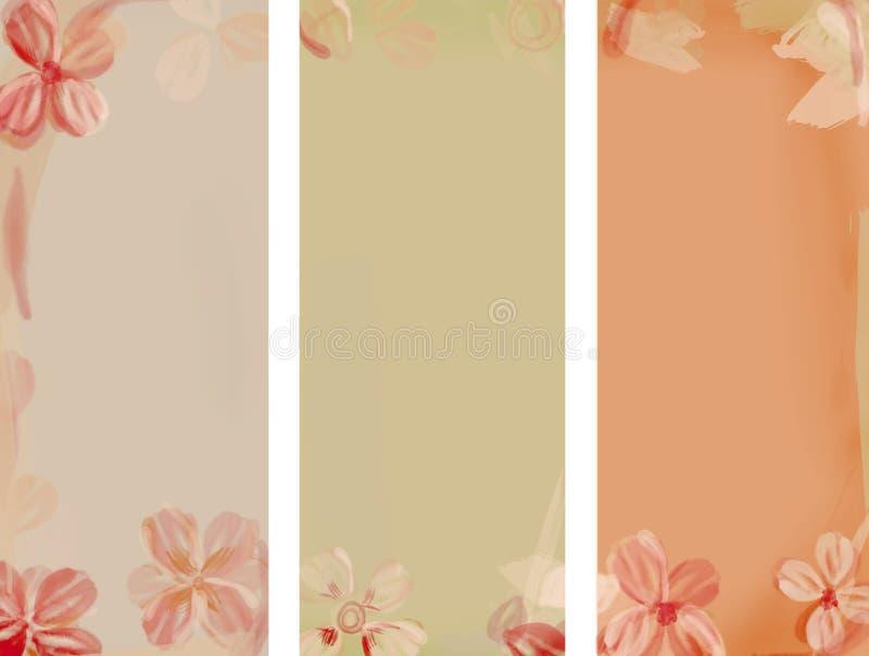 Fond d'aquarelle de fleur illustration stock