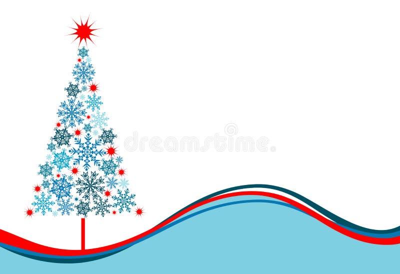 Fond d'arbre de Noël, vecteur illustration libre de droits