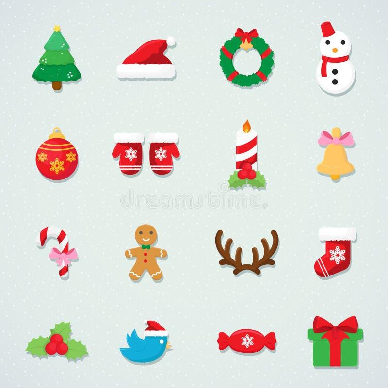 Fond d'arbre de sapin d'icône de Noël photos stock