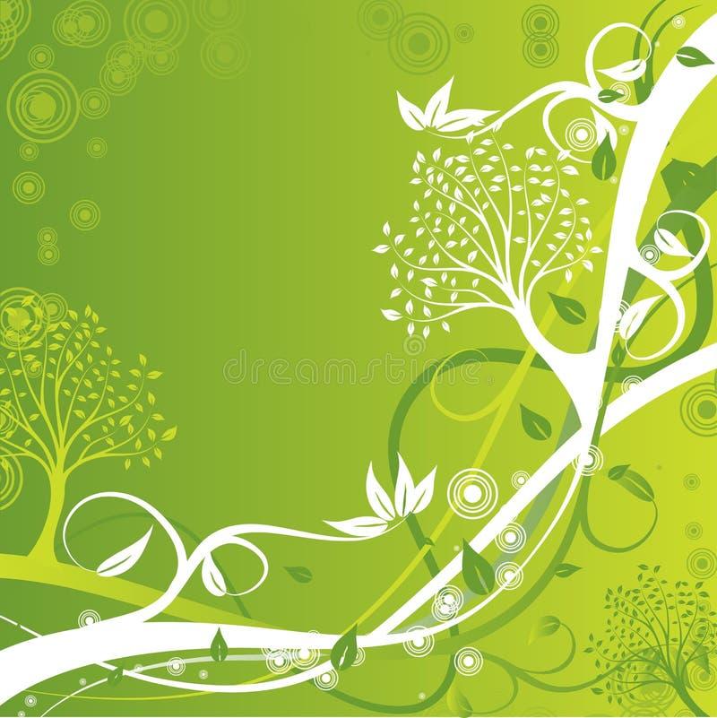 Fond d'arbre, vecteur illustration de vecteur