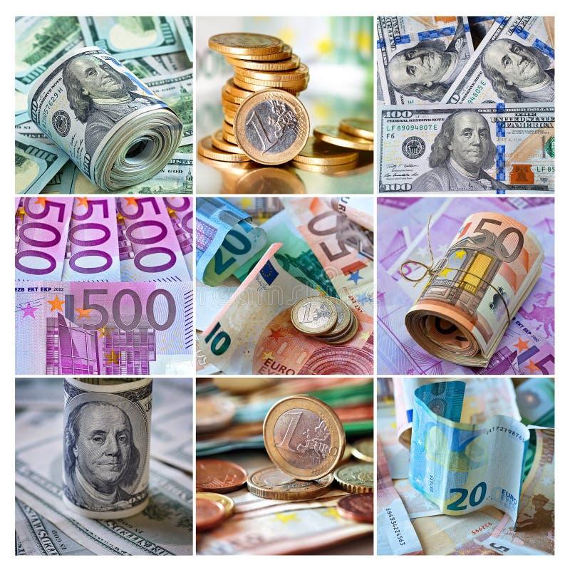 Fond d'argent photo stock