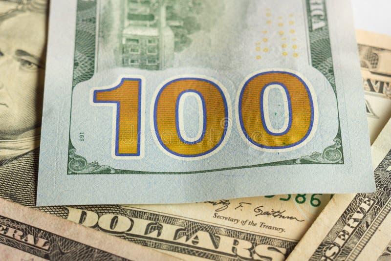 Fond d'argent - dollars américains image libre de droits