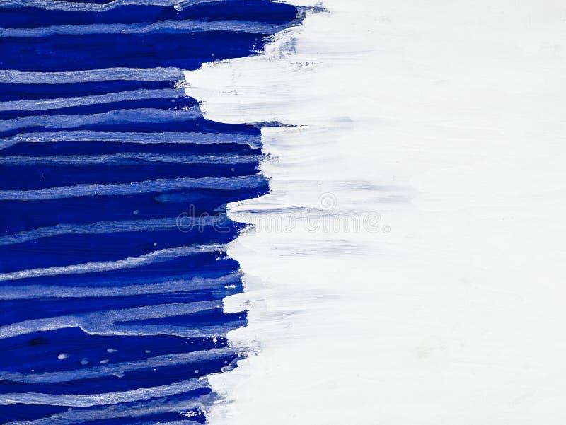 Fond d'art abstrait Peinture à l'huile sur la toile Fragment d'illustration Taches de peinture à l'huile Traçages de peinture Art image stock