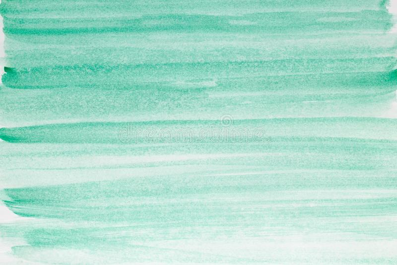 Fond d'art abstrait Peinture à l'huile sur la toile Texture verte Fragment d'illustration Taches de peinture à l'huile Traçages d photo libre de droits