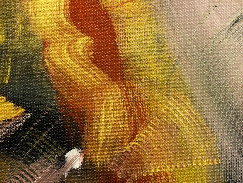 Fond d'art abstrait, peinture de texture image stock