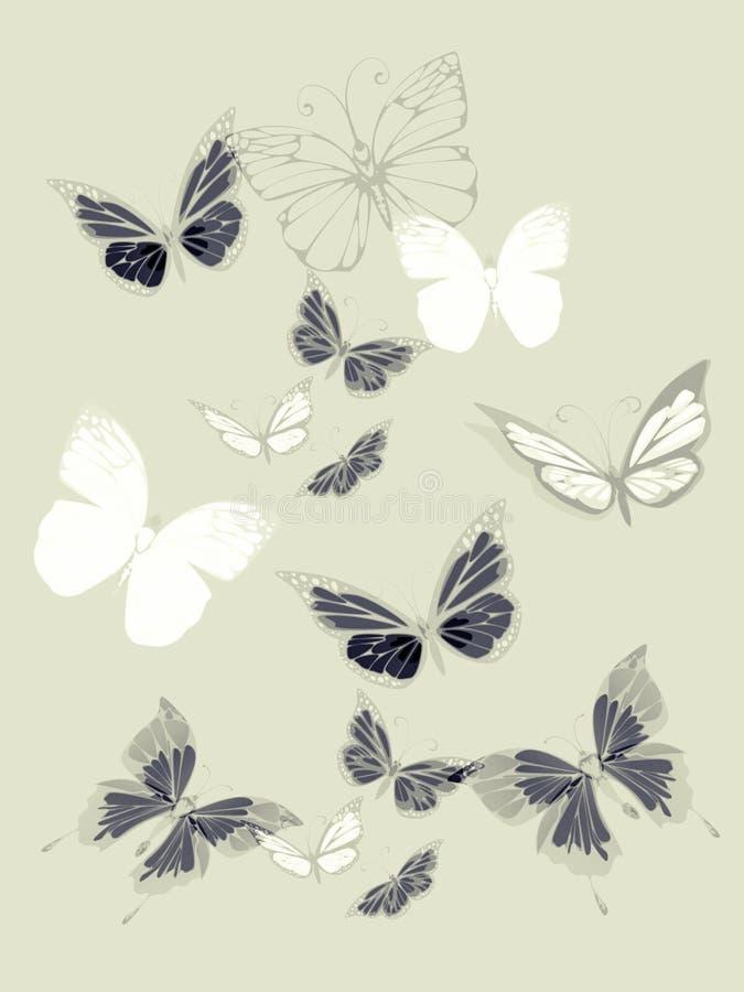 Download Fond D'art Avec Le Papillon Image stock - Image du aile, conception: 45351505
