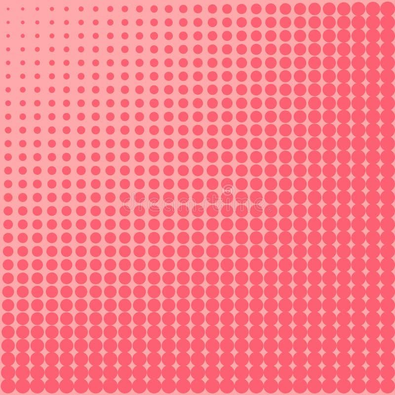 Fond d'art de bruit au point Allez du cramoisi et du pinke, l'effet du soleil illustration de vecteur