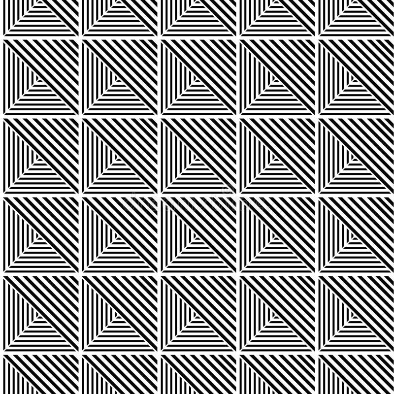 Fond d'Art Deco Seamless Pattern Decorative illustration stock