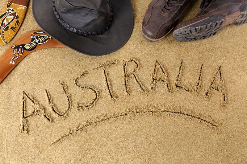 Fond d'Australie image stock