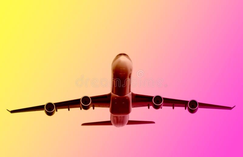 Fond d'avion illustration de vecteur
