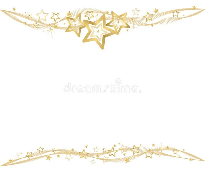 Download Fond d'or de Noël illustration de vecteur. Illustration du cartes - 45367913