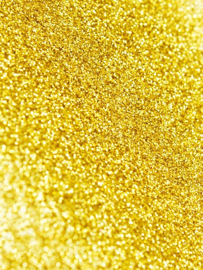 Fond d'or de scintillement image libre de droits