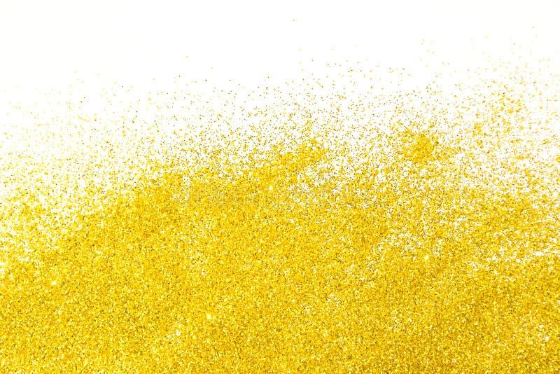 Fond d'or de scintillements images libres de droits