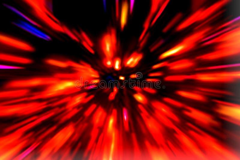 Fond d'explosion illustration stock