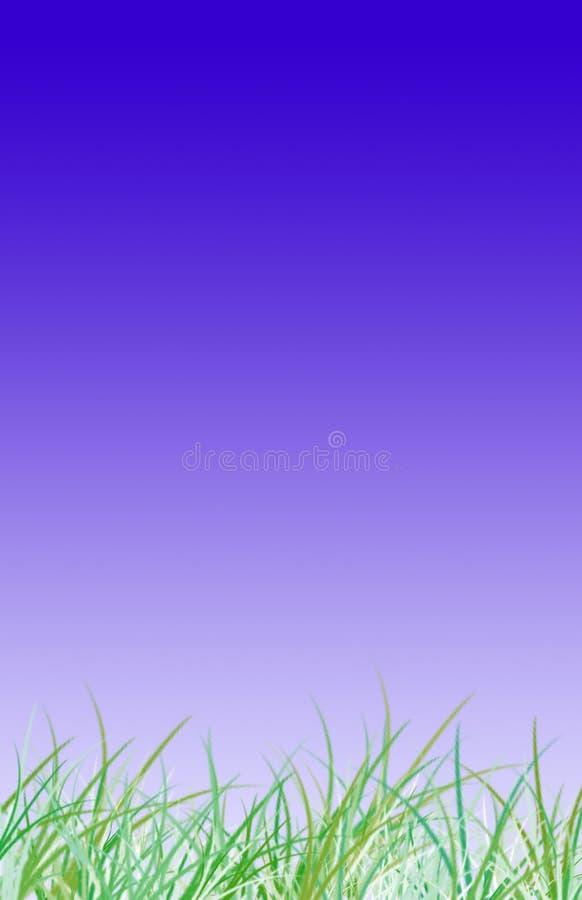 Fond d'herbe illustration stock