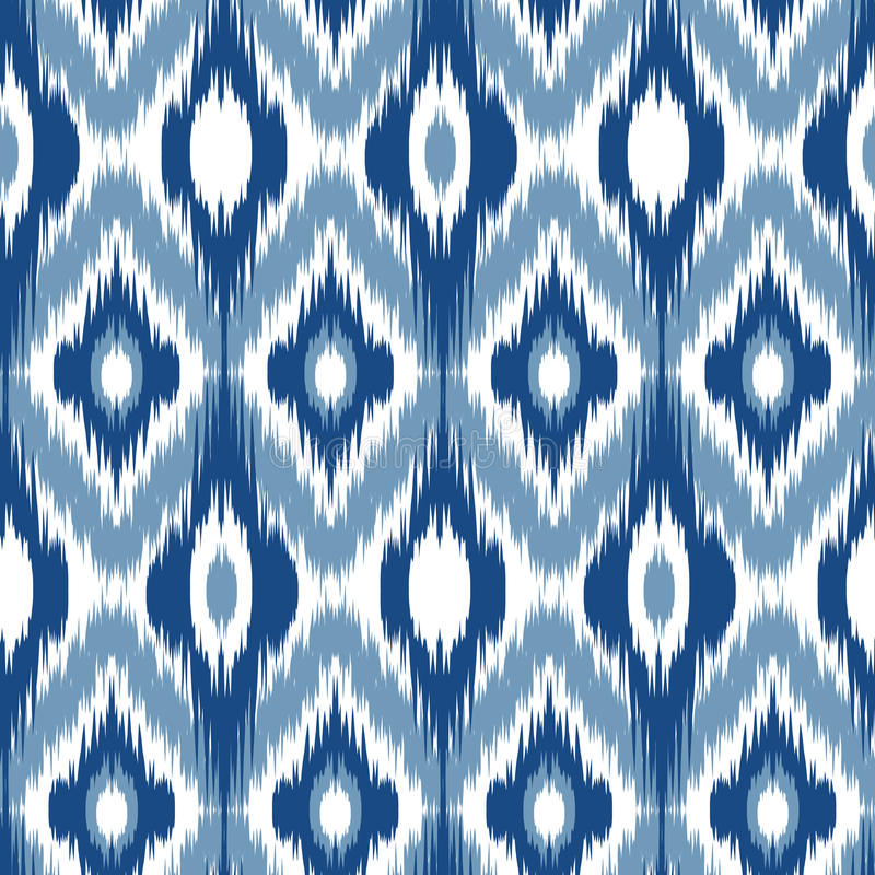 Fond 9 d'Ikat Ogee illustration stock