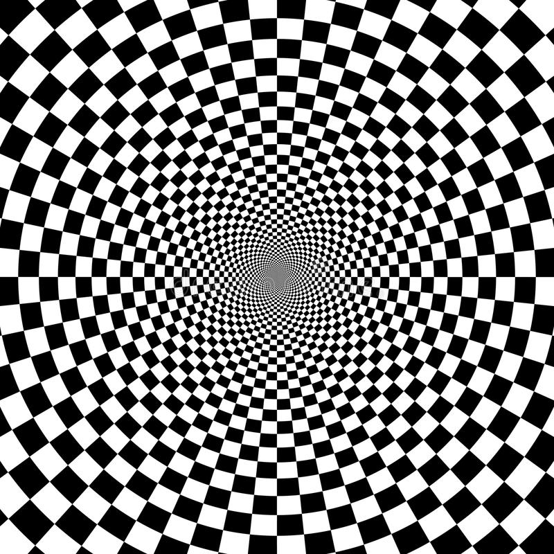 Fond d'illusion illustration stock