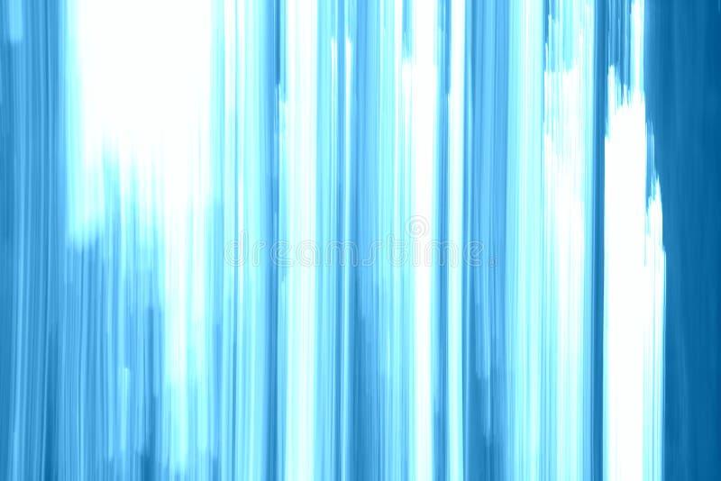 Fond d'image des lignes verticales bleues et blanches lumineuses avec l'abondance de l'espace de copie pour la publicité image stock