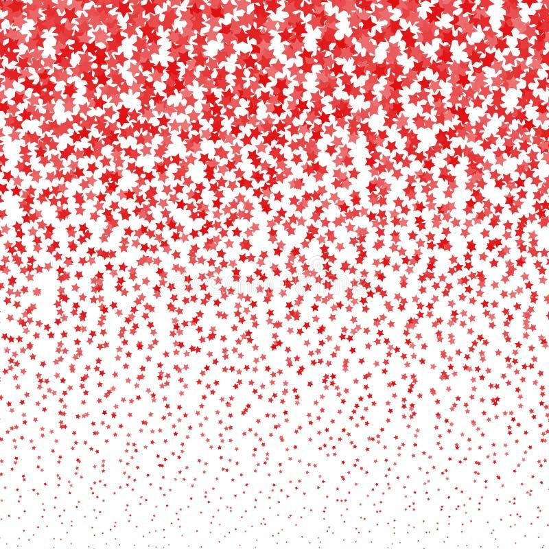 Fond d'image tramée d'étoiles filantes de vecteur Calibre de conception d'étoiles filantes illustration stock