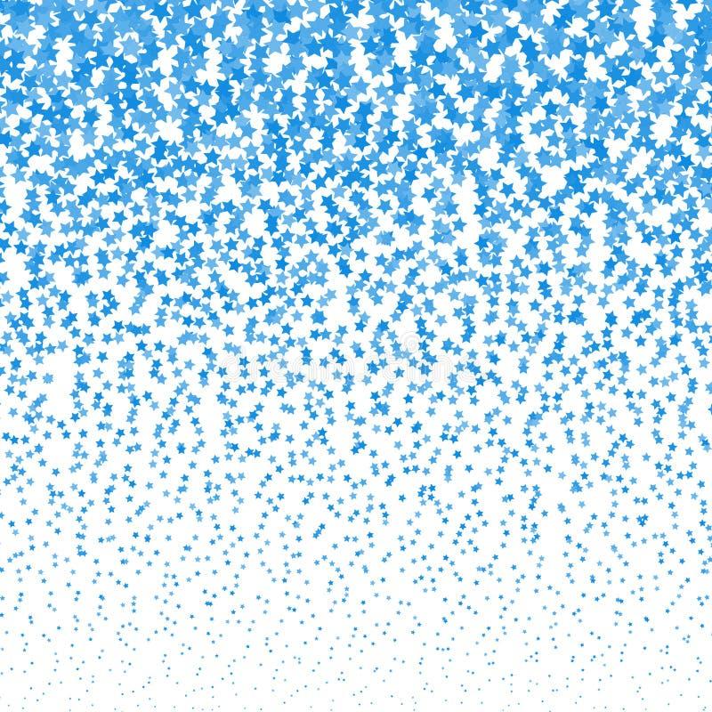 Fond d'image tramée d'étoiles filantes de vecteur Calibre de conception d'étoiles filantes illustration de vecteur
