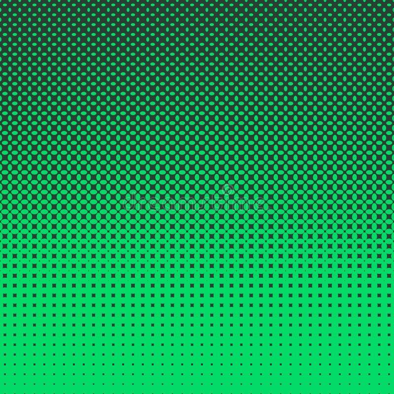 Fond d'image tramée de modèle d'ellipse illustration stock