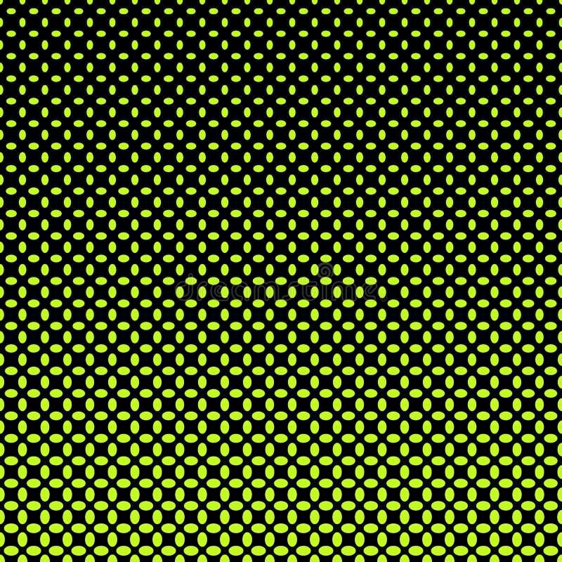 Fond d'image tramée de modèle d'ellipse illustration de vecteur