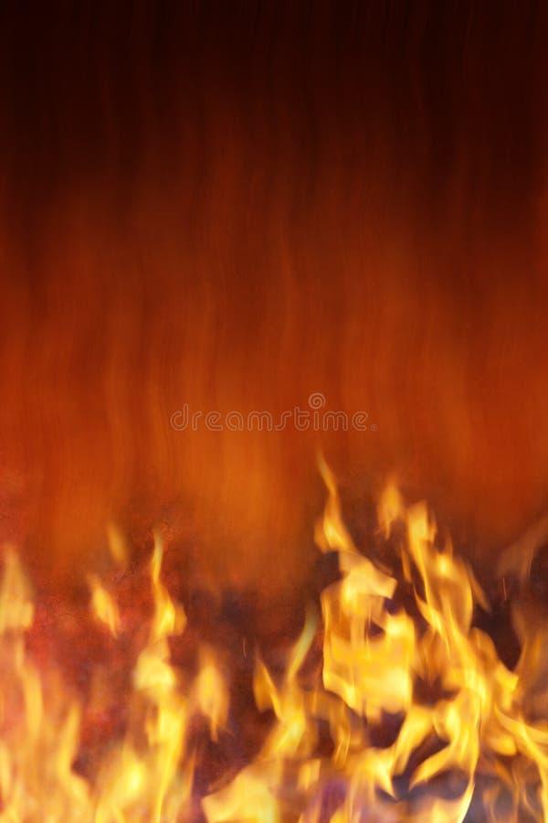 Fond d'incendie et de chaleur photos stock