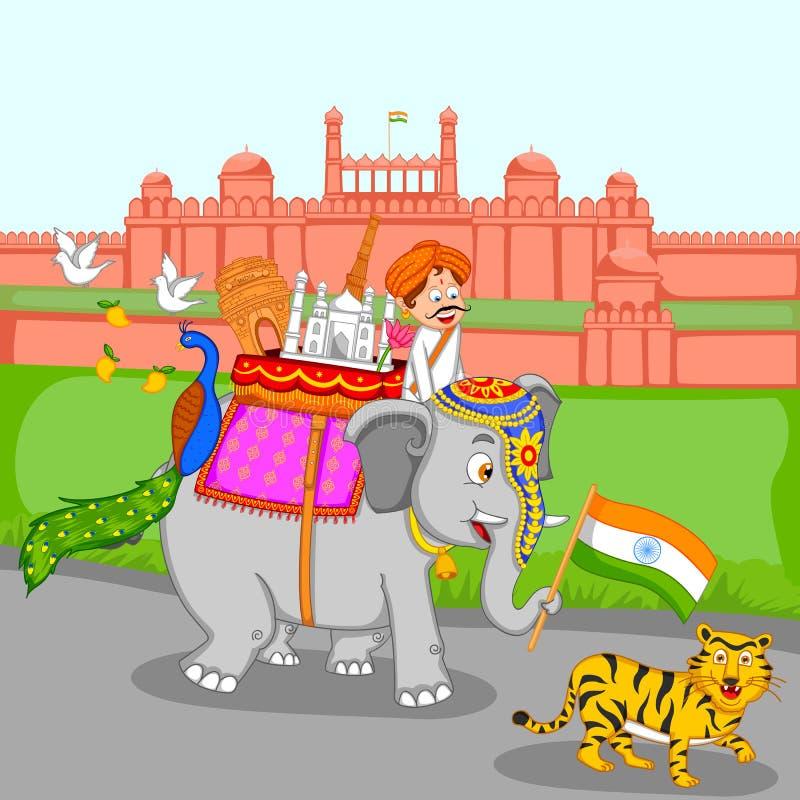 Fond d'Inde illustration libre de droits