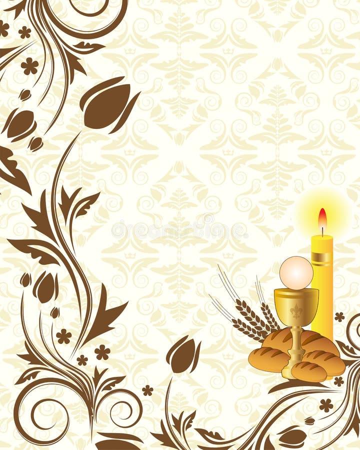 Fond d'invitation illustration stock