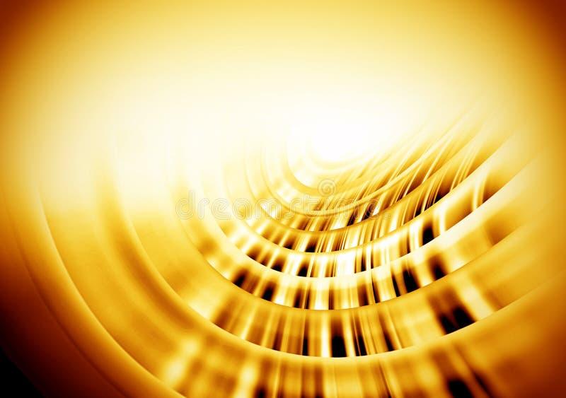 Fond d'or pour la conception, cartes de visite professionnelle de visite illustration de vecteur