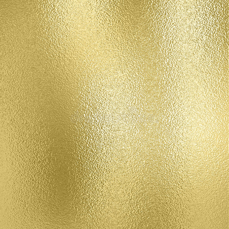 Fond d'or Texture décorative d'aluminium d'or photographie stock libre de droits