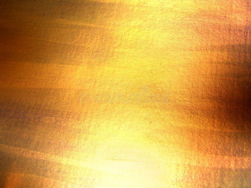 Fond d'or tiré par la main abstrait illustration de vecteur