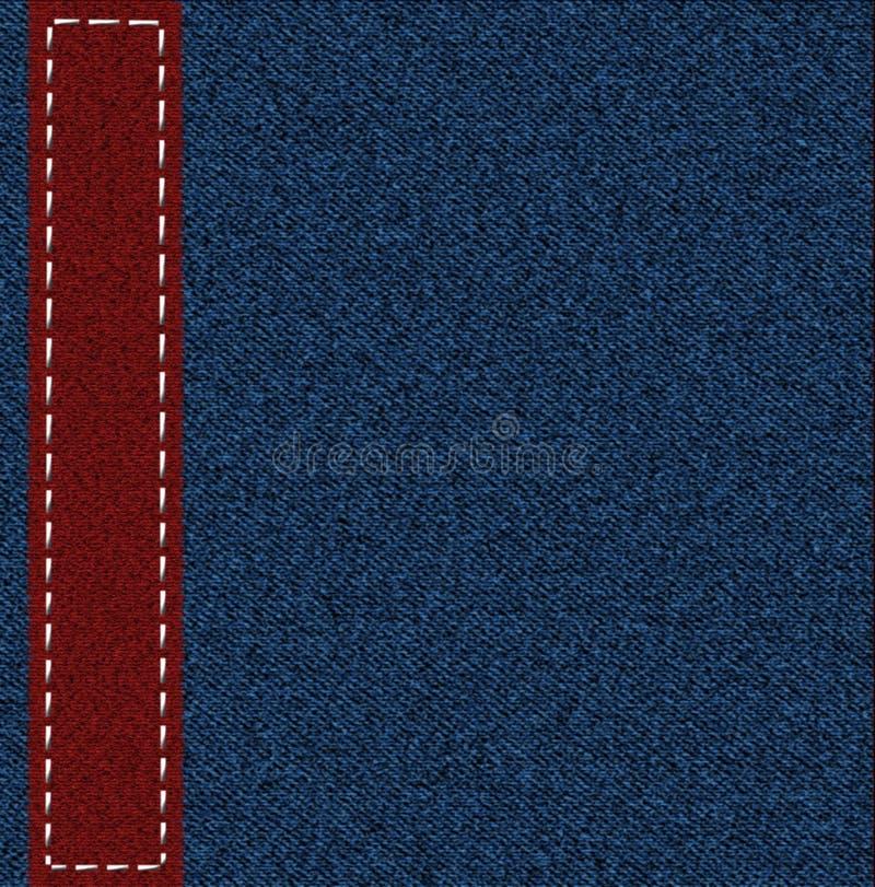 Fond d'un tissu de jeans images libres de droits